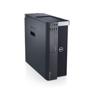 DELL Precision T5610 Workstation, 2 x Intel DECA Core Xeon E5-2690 v2 3.0 GHz, 64GB DDR3 ECC, 500GB SSD, nVidia GeForce GTX 1080, DVDRW, GARANTIE 3 ANI