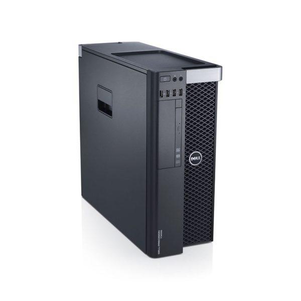 DELL Precision T5610 Workstation, 2 x Intel DECA Core Xeon E5-2690 v2 3.0 GHz, 64GB DDR3 ECC, 500GB SSD, nVidia GeForce GTX 1080, DVDRW, GARANTIE 3 ANI