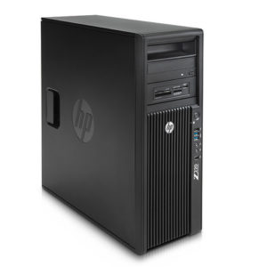 HP Z220 Workstation Intel xeon E3-1225V2 16GB SSD 120GB 1TB GTX 1050Ti 4GB