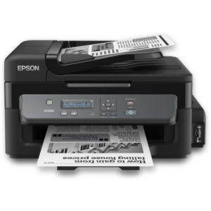 Imprimante Multifonction Epson WorkForce M200 - Monochrome - Système de réservoir - C11CC83401