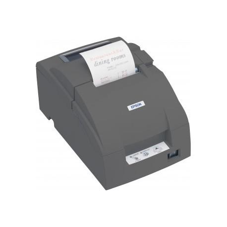 Imprimante ticket à impact Epson TM-U220B USB noire avec alimentation (C31C514057A0) - C31C514057A0