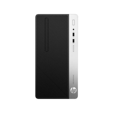 Ordinateur de Bureau HP ProDesk 400 G5 Microtour |i5-4GB-500GB-W10p| Écran 20