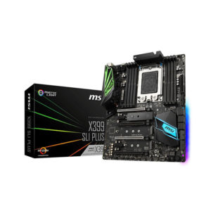 MSI X399 SLI PLUS Carte mère ATX Socket sTR4 AMD X399
