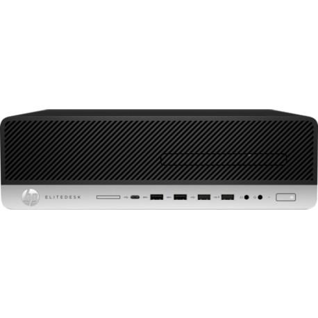 Ordinateur de bureau HP EliteDesk 800 G4 SFF  i5-4GB-1TB-Windows10  (4QC91EA) - 4QC91EA