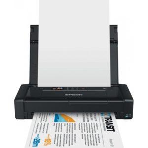 Imprimante Jet d'encre Portable Epson WorkForce WF-100W - C11CE05402