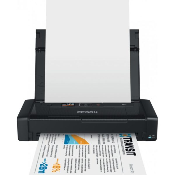Imprimante Jet d'encre Portable Epson WorkForce WF-100W - C11CE05402