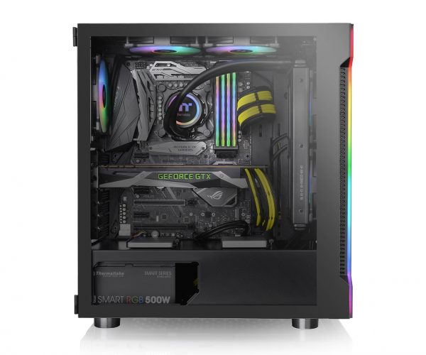 Thermaltake H200 TG RGB ATX Mid Tower Chassis