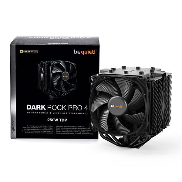 DARK ROCK PRO 4 BK022 be quiet! Ventilateur de processeur pc gamer