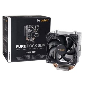 Pure Rock Slim BK008 be quiet! Ventilateur de processeur pc gamer